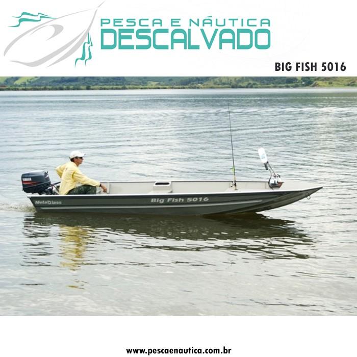 Barco 5 Metros Big Fish 5016 Metal Glass