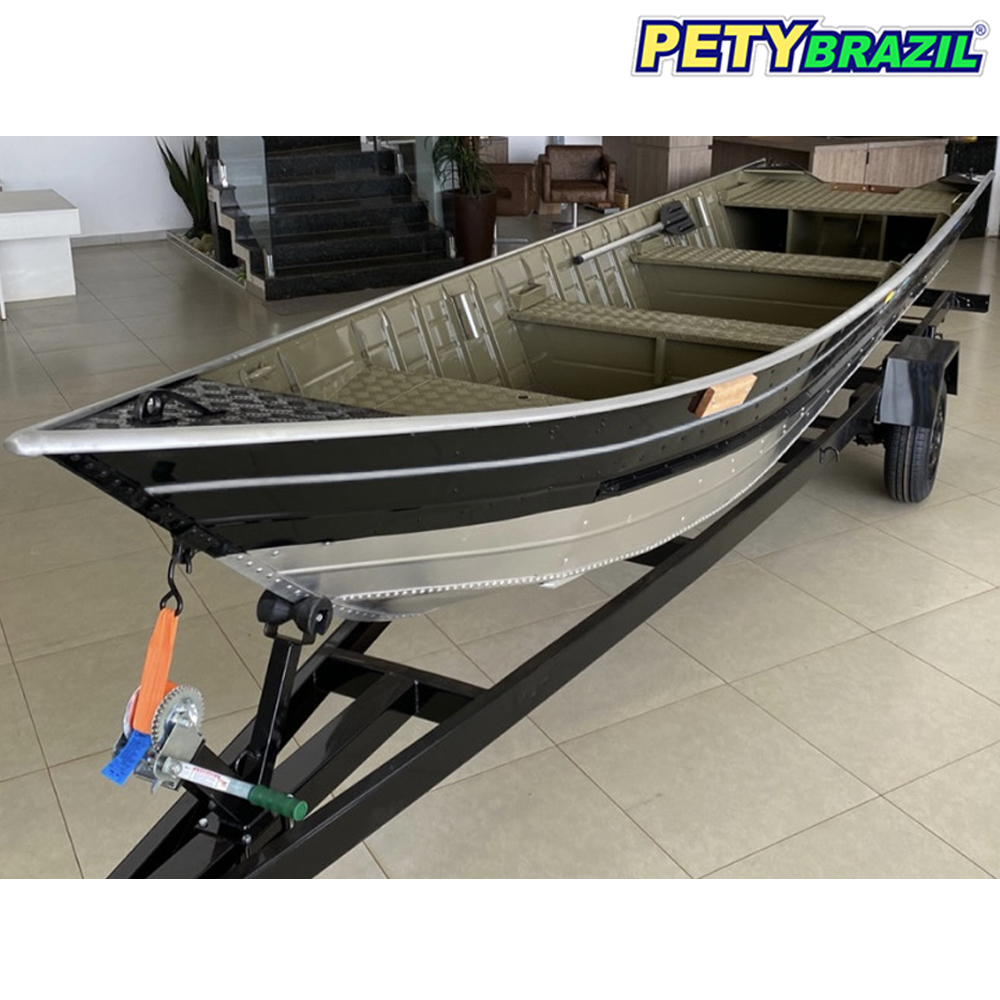 Barco de Alumínio 6 Metros Pety 600 Bass - Pety Brazil