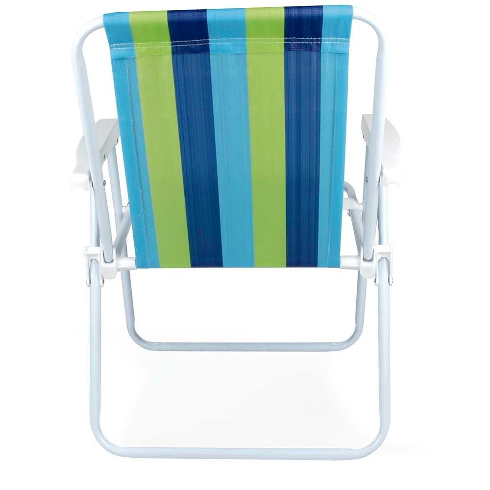 Cadeira Alta de Aço Retrátil - Mor