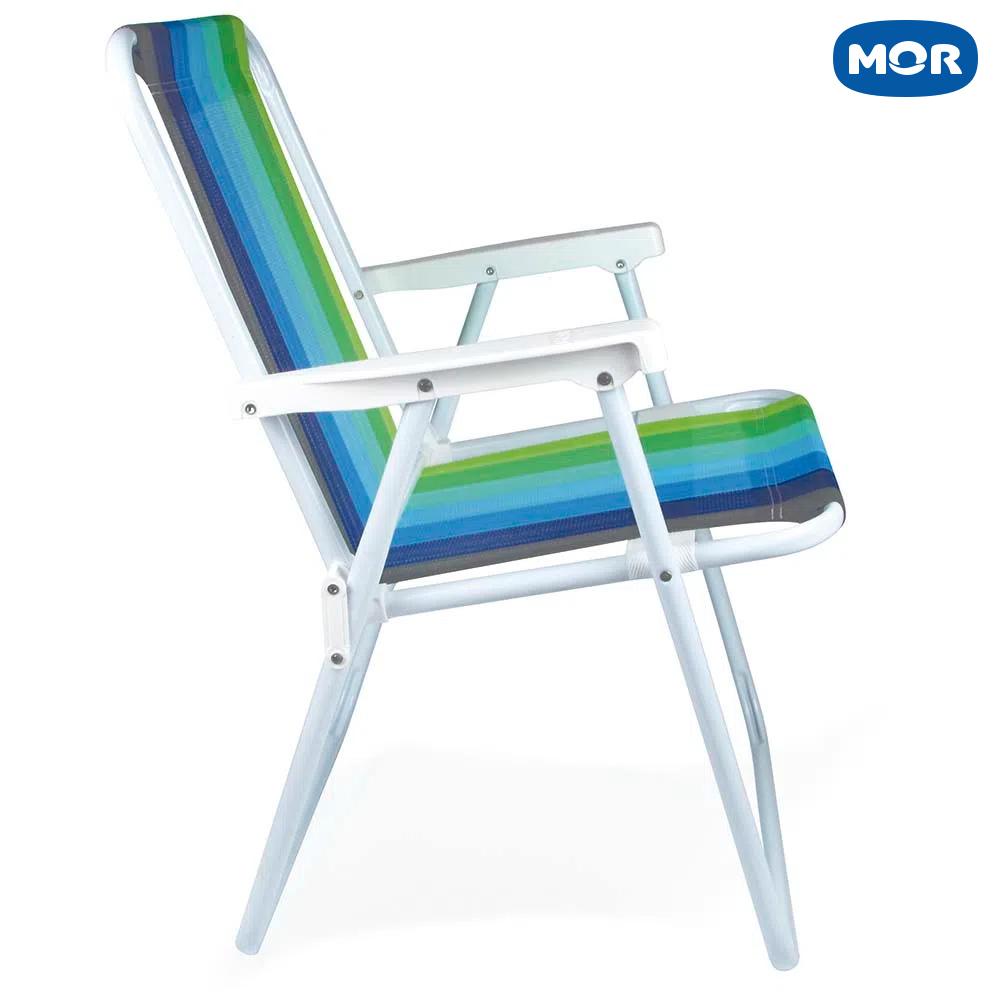 Cadeira Alta Retrátil de Aço 2219 - Mor