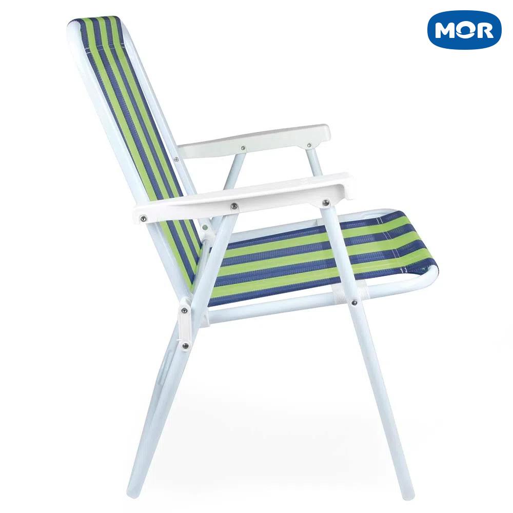 Cadeira Alta Retrátil de Aço 2223 - Mor