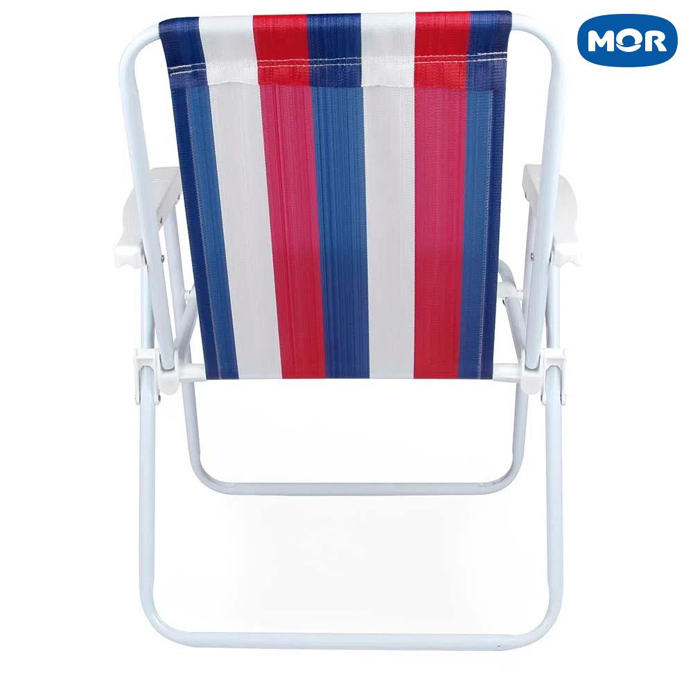 Cadeira Alta Retrátil de Aço 2228 - Mor