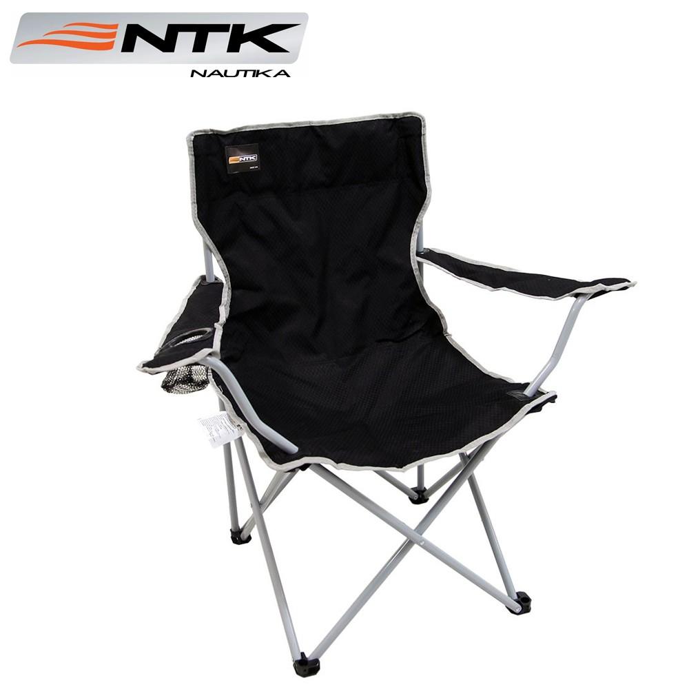 Cadeira Alvorada Retrátil Preta - Nautika
