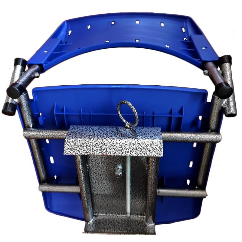 Cadeira Giratória Dobrável para Barco - Narciso Pesca