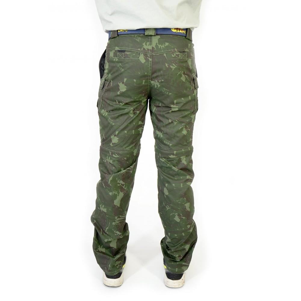 Calça Bermuda MTK Amazon Verde Camuflada 42