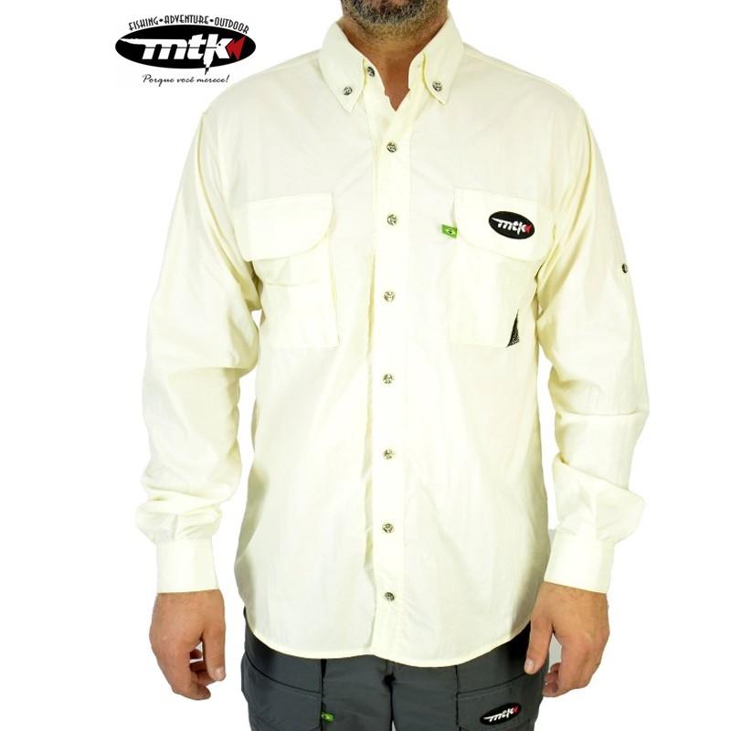 Camisa Sky MTK Proteção Solar Tam. G Gelo