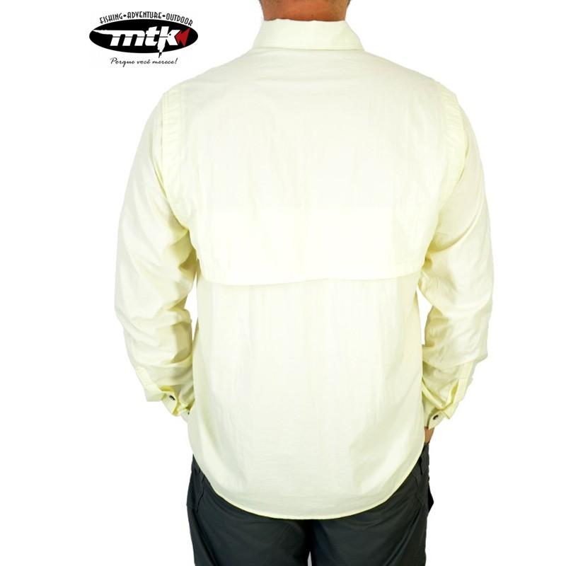 Camisa Sky MTK Proteção Solar Tam. GG Gelo