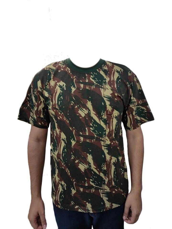 Camiseta Camuflada de Malha Tam. GG - Nomura