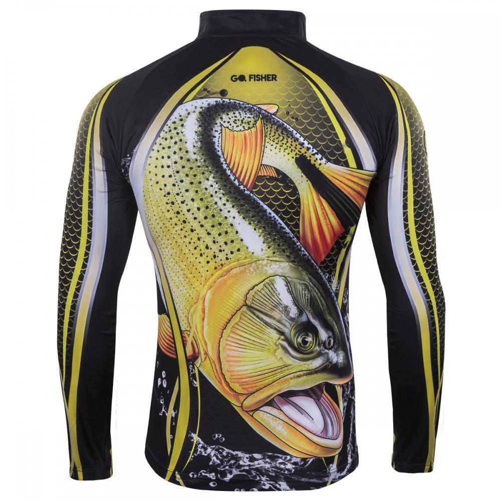 Camiseta de Pesca Dourado GO 09 GG - Go Fisher