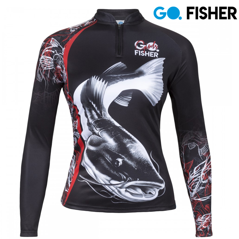 Camiseta de Pesca Feminina Pirarara GOG 02 GG - Go Fisher