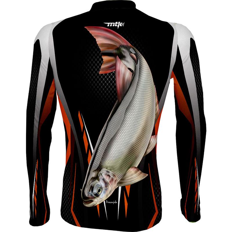Camiseta de Pesca MTK Atack Z Piracanjuba EX
