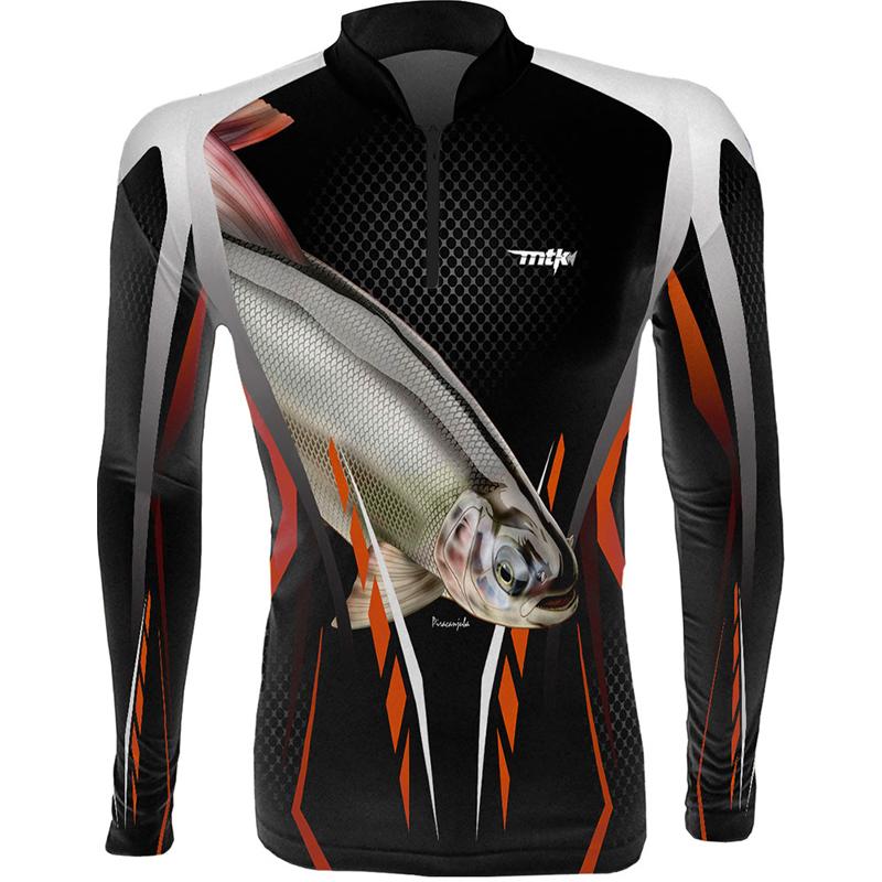 Camiseta de Pesca MTK Atack Z Piracanjuba GG