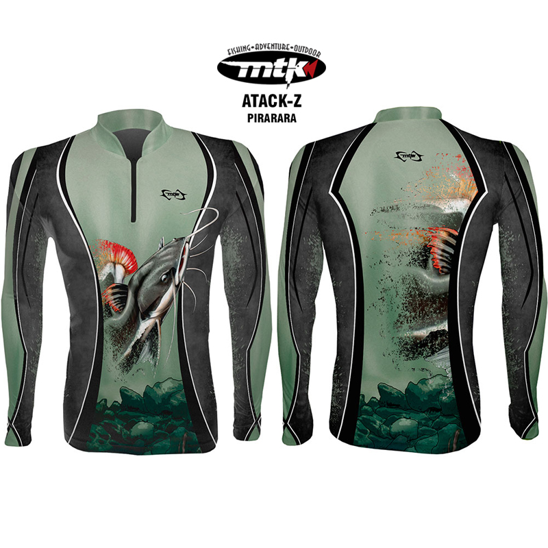 Camiseta de Pesca MTK Atack Z Pirarara G
