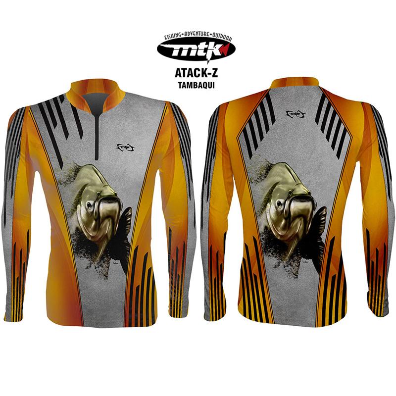 Camiseta de Pesca MTK Atack Z Tambaqui EXEX