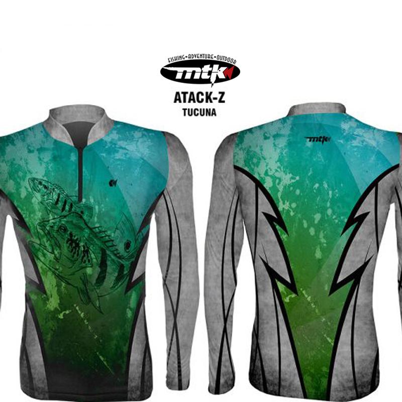Camiseta de Pesca MTK Atack Z Tucuna GG