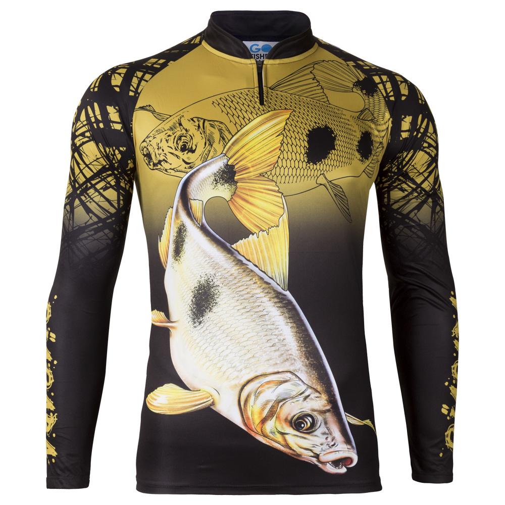 Camiseta de Pesca Piapara GO 22 M - Go Fisher