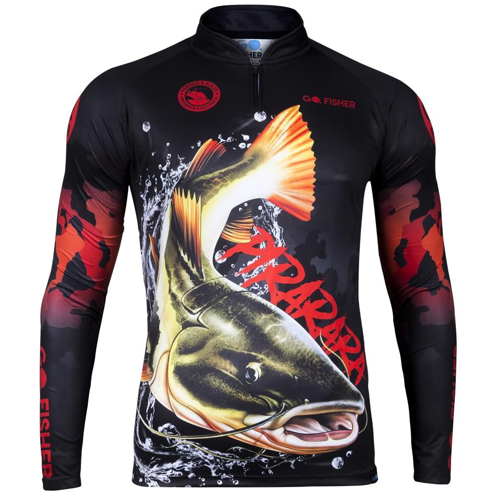 Camiseta de Pesca Pirarara GO 19 GG - Go Fisher