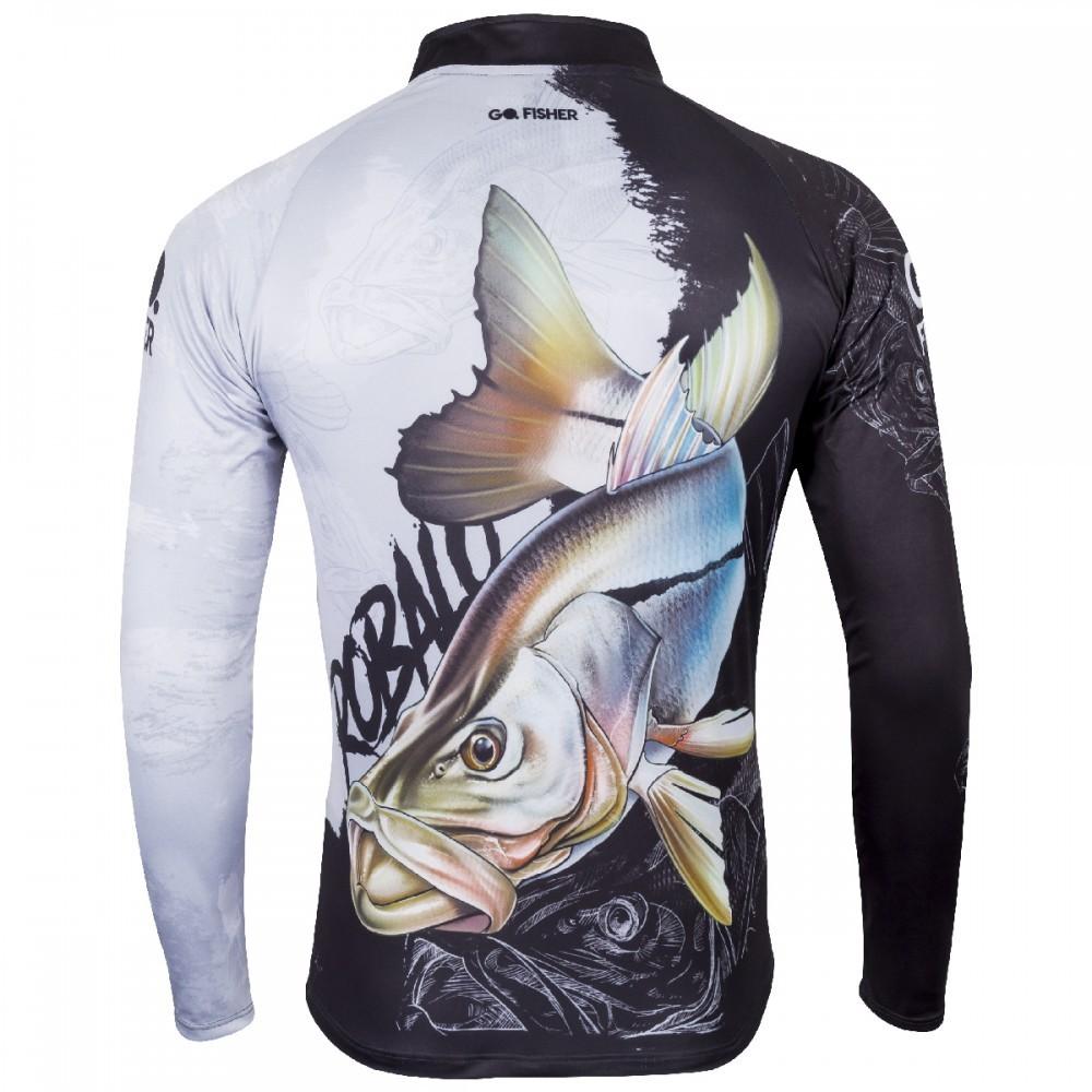 Camiseta de Pesca Robalo GO 10 G - Go Fisher