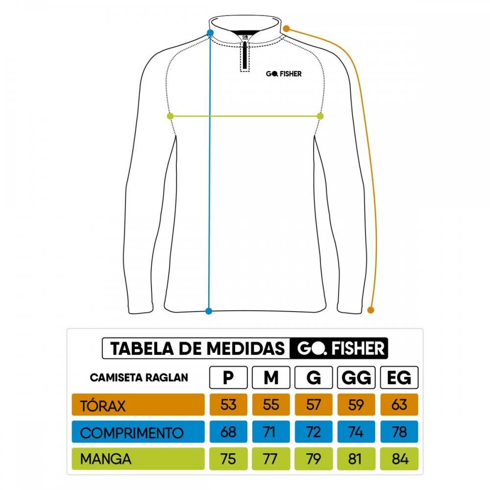 Camiseta de Pesca Robalo GO 10 GG - Go Fisher