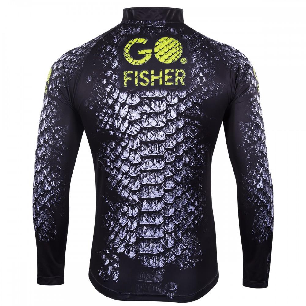 Camiseta de Pesca Skin GO 14 M - Go Fisher