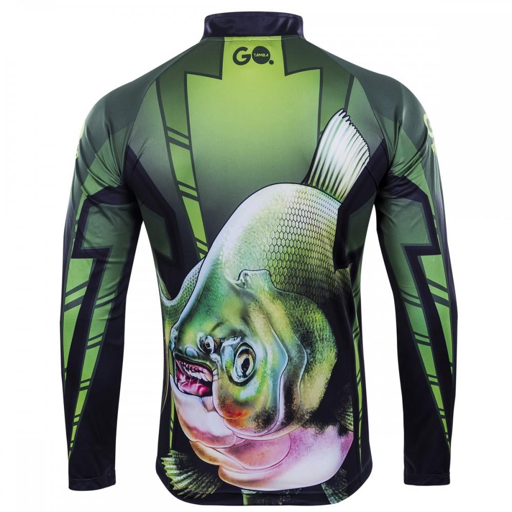 Camiseta de Pesca Tamba GO 04 G - Go Fisher
