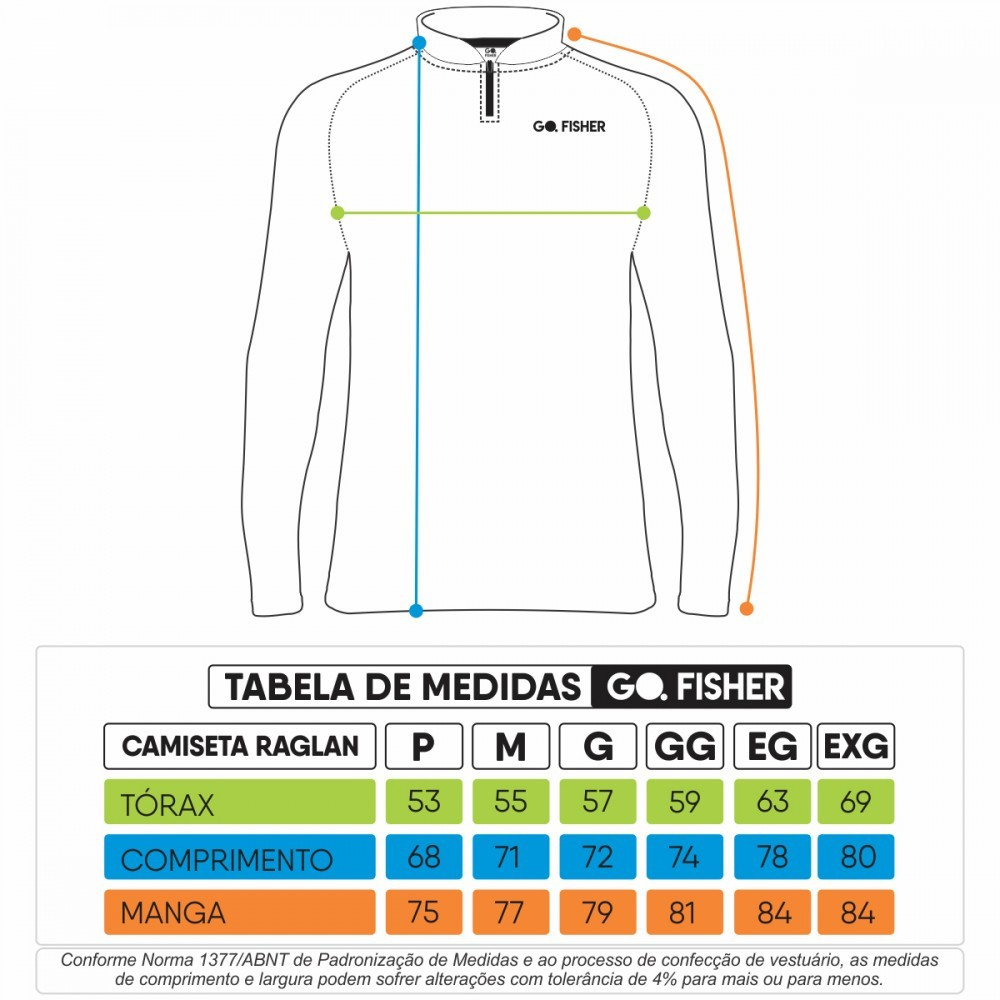 Camiseta de Pesca Tucuna BR Skull GOSK 02 M - Go Fisher