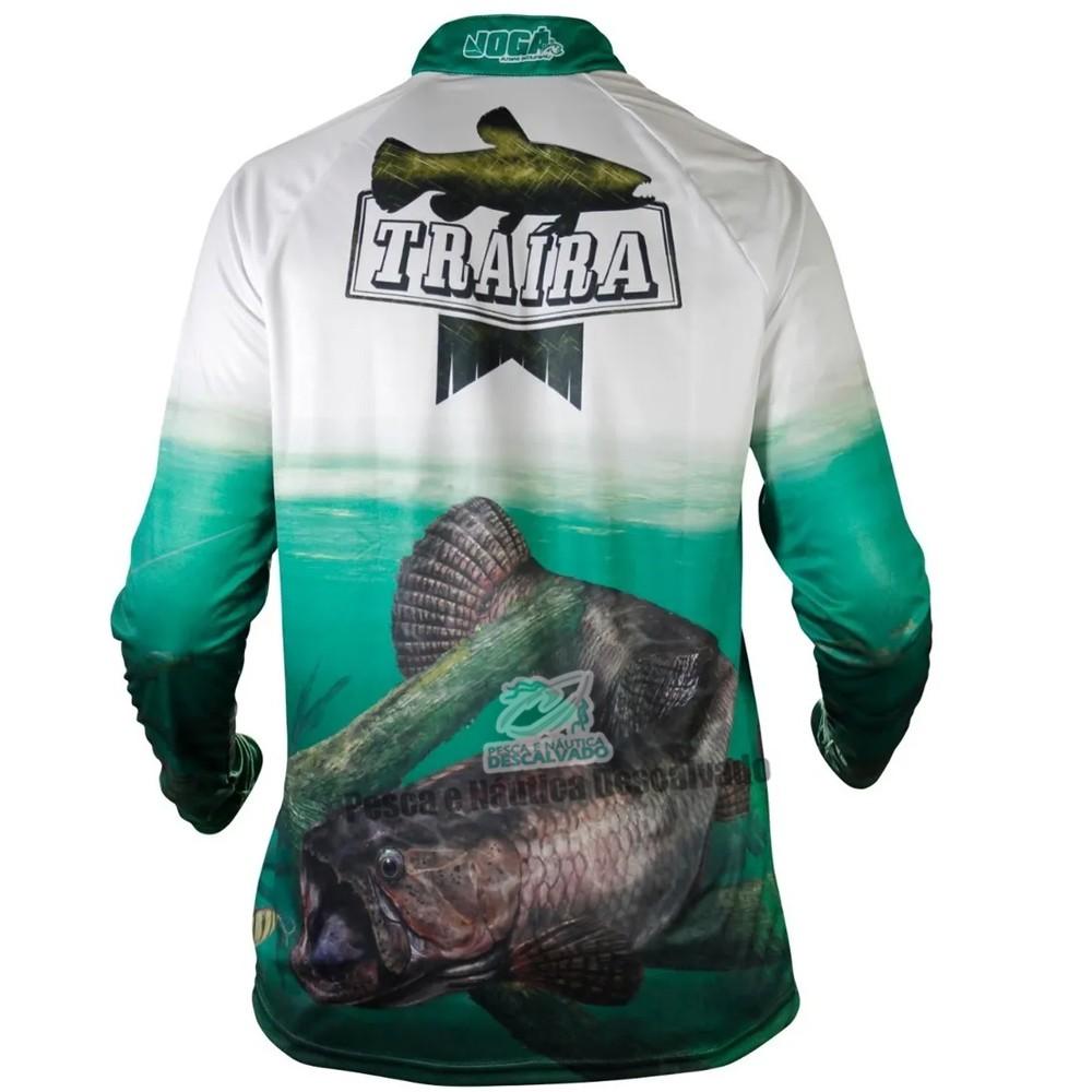 Camiseta de Pesca Jogá Traíra - G