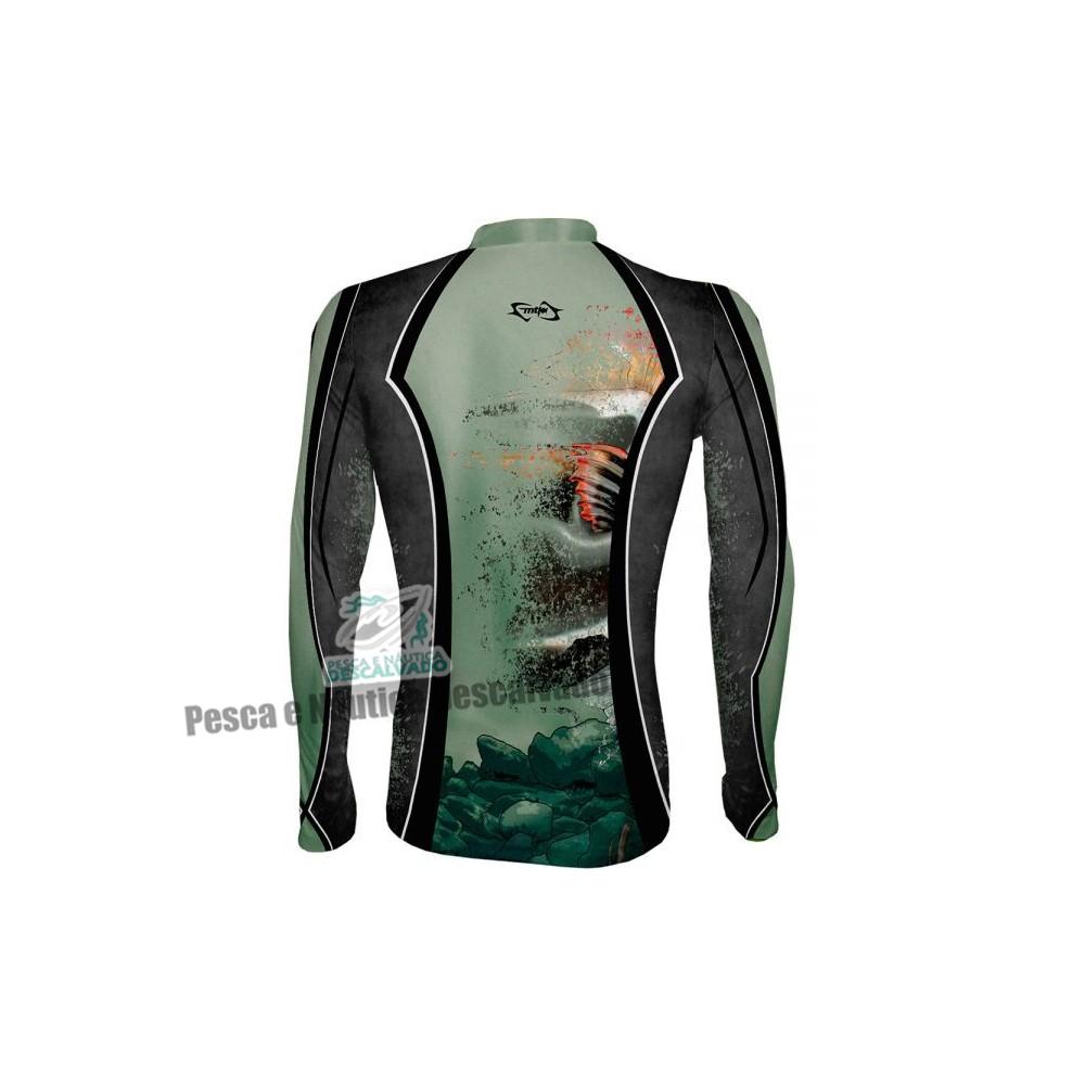 Camiseta de Pesca MTK Atack Z Pirarara - EXG