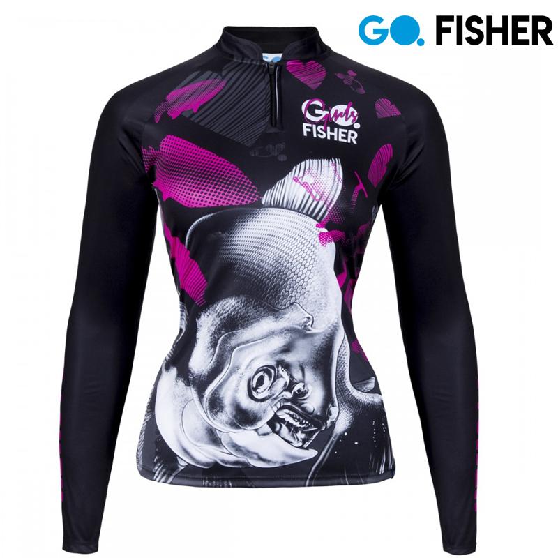 Camiseta Proteção Solar Feminina Tamba GOG 01 GG - Go Fisher
