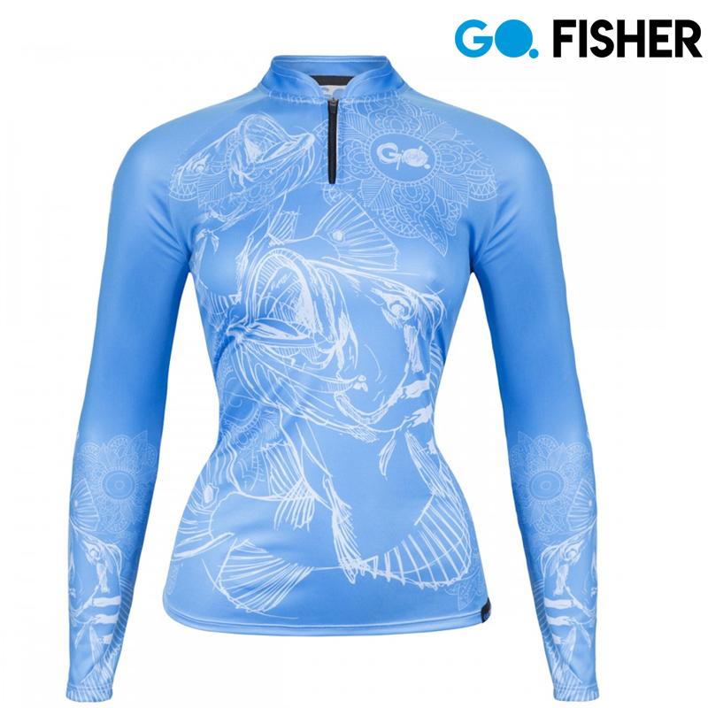 Camiseta Proteção Solar Feminina Tribe GOG 07 GG - Go Fisher