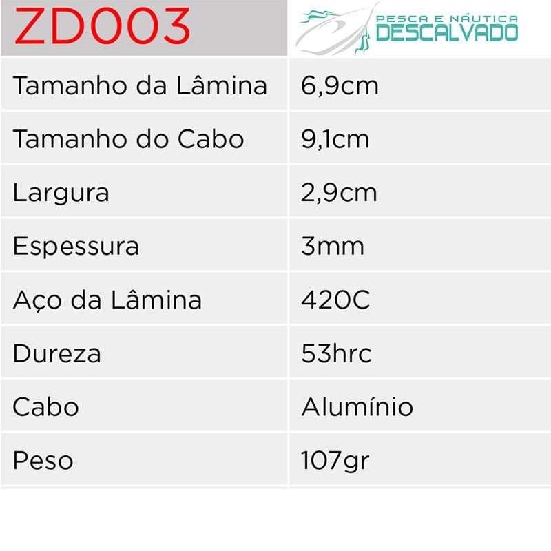 Canivete Esportivo Albatroz ZD-003