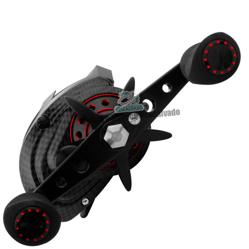 Carretilha Black Snake Red Esquerda - Albatroz