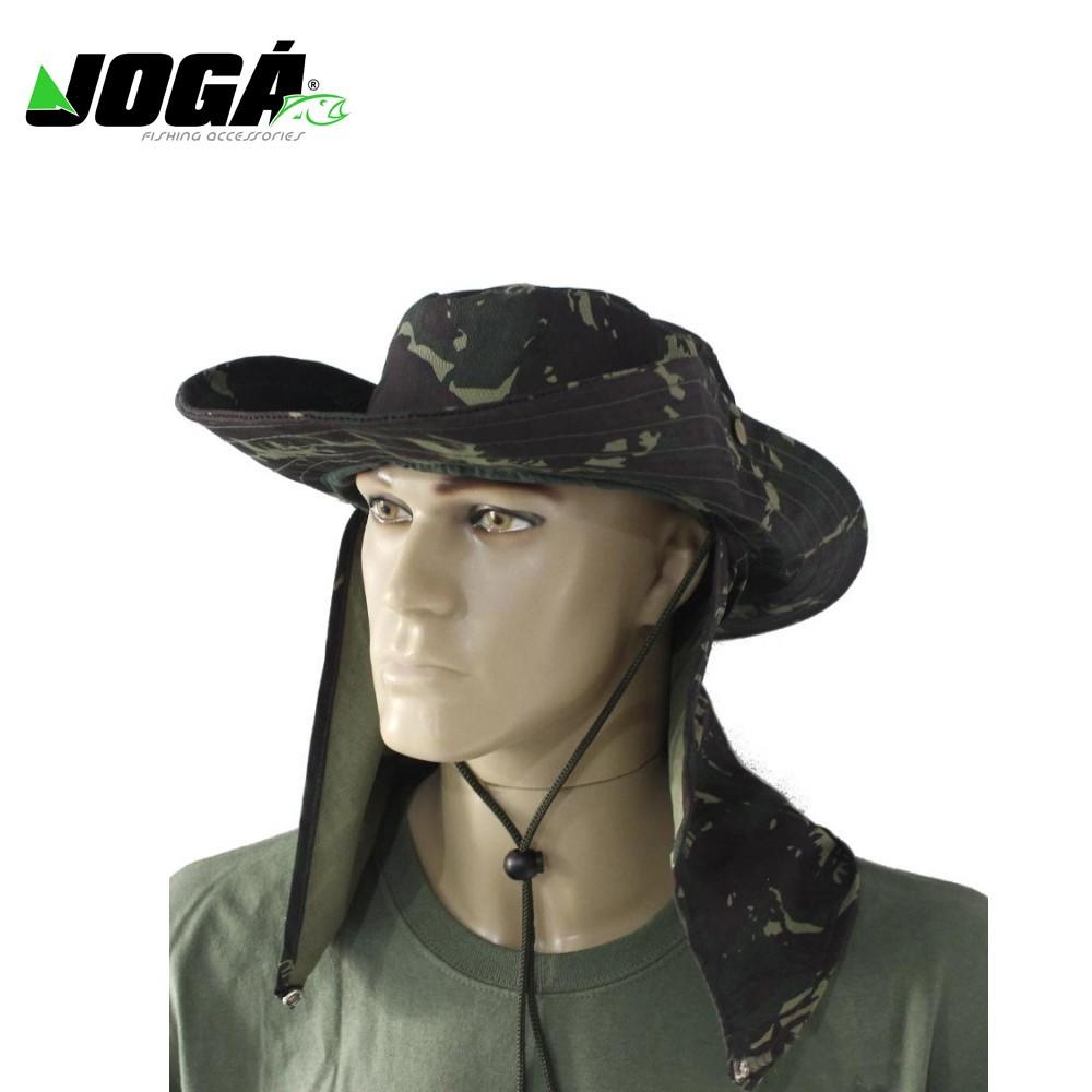 ChapÉu camuflado com protetor - jogÁ