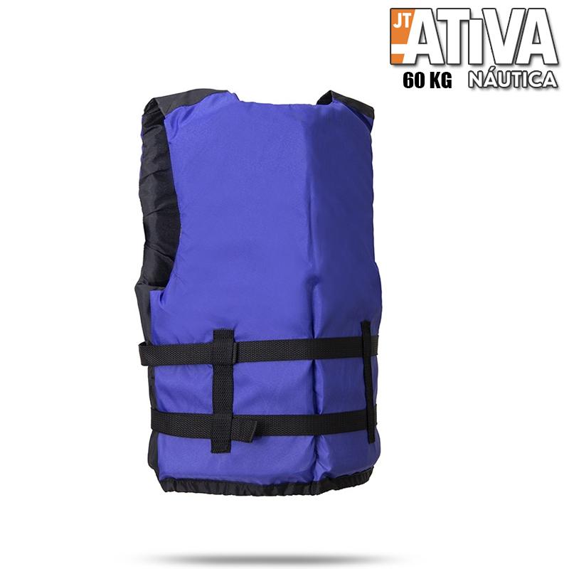 Colete Salva Vidas Canoa 2.0 Ativa 60Kg Azul