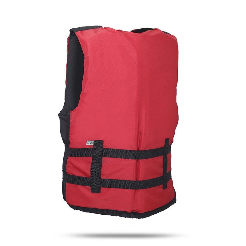 Colete Salva Vidas Canoa 70Kg Vermelho - Ativa
