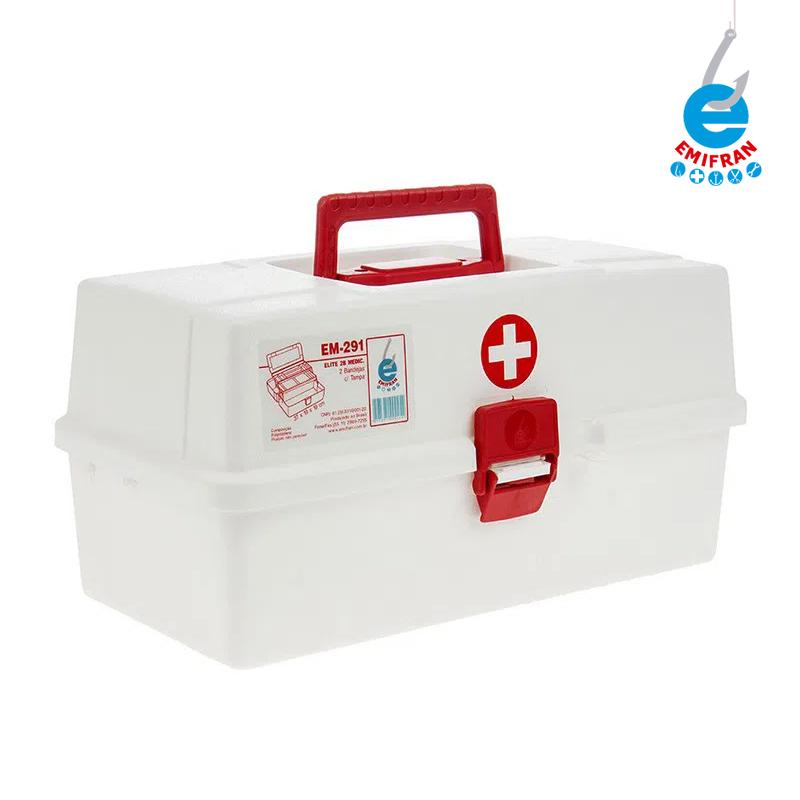 Estojo de Medicamentos Elite 2 Bandejas EM-291