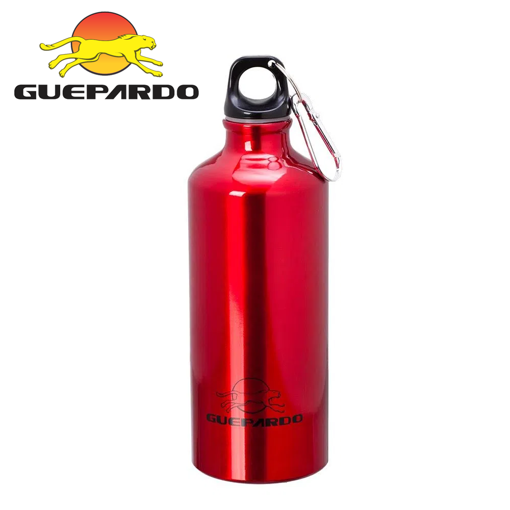 Garrafa esportiva alumÍnio 600ml - guepardo