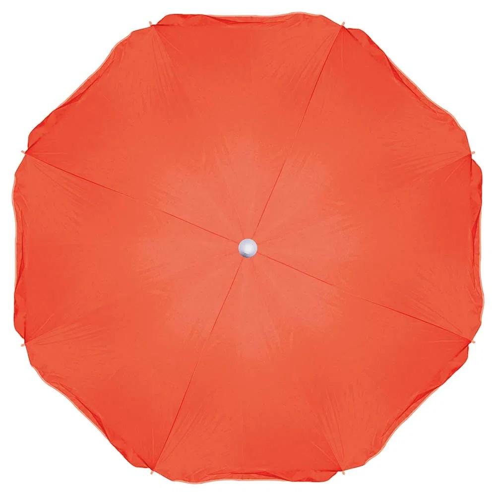 Guarda sol fashion 1,80 m laranja - mor