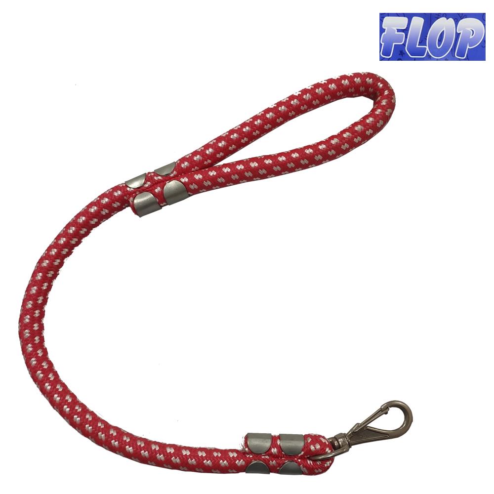Guia de Corda para Cães 60cm Vermelho - Flop