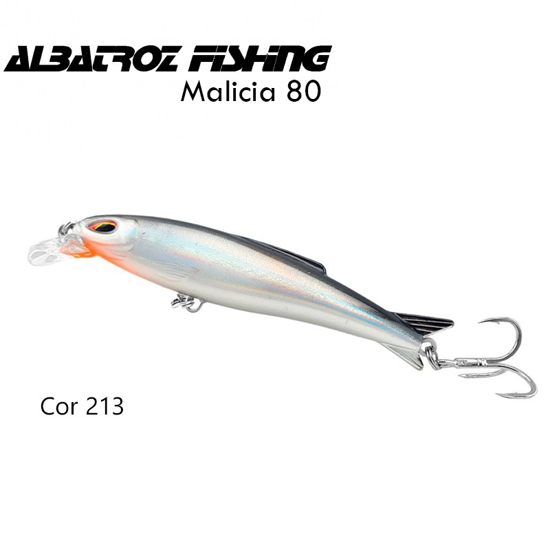 Isca Artificial Albatroz Malicia 80 Cor 213