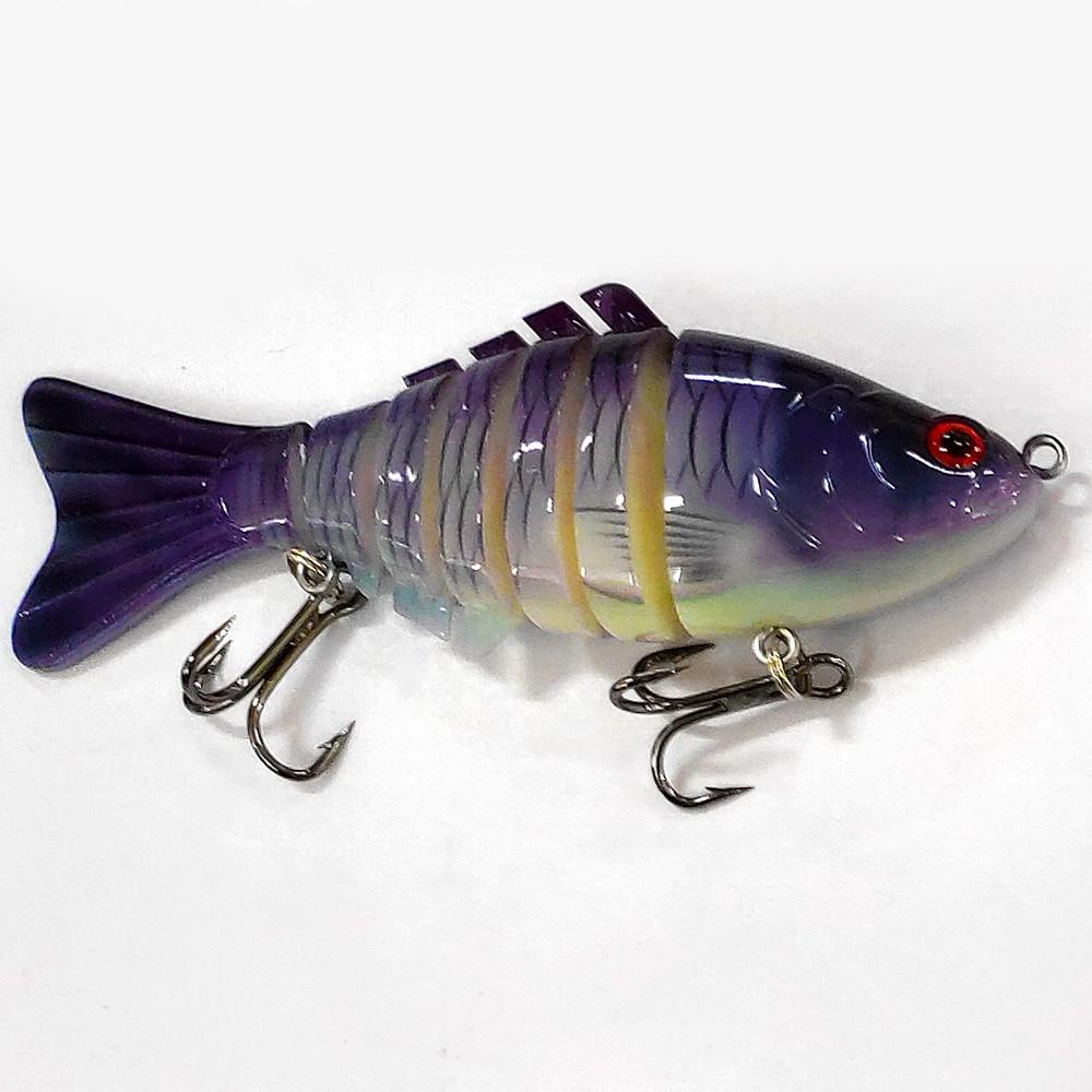 Isca Artificial Articulada CMIK Fishing Azul