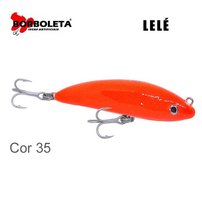 Isca Artificial Borboleta Lelé Cor 35