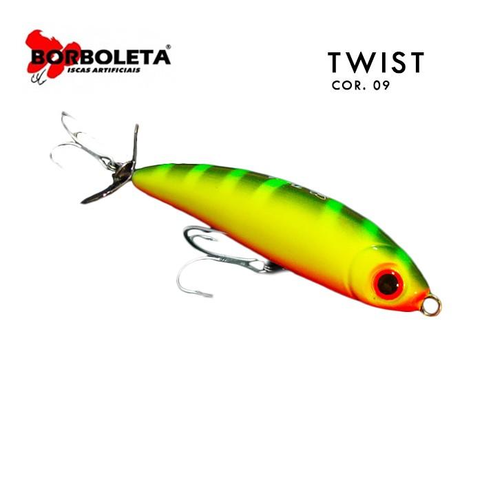 Isca Artificial Borboleta Twist Cor 09