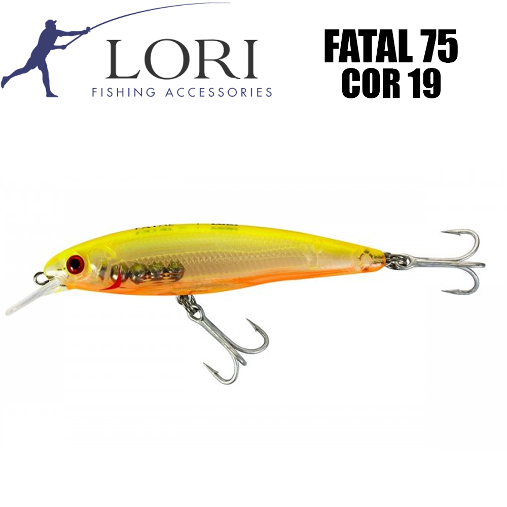 Isca Artificial Fatal 75 Cor 19 - Lori