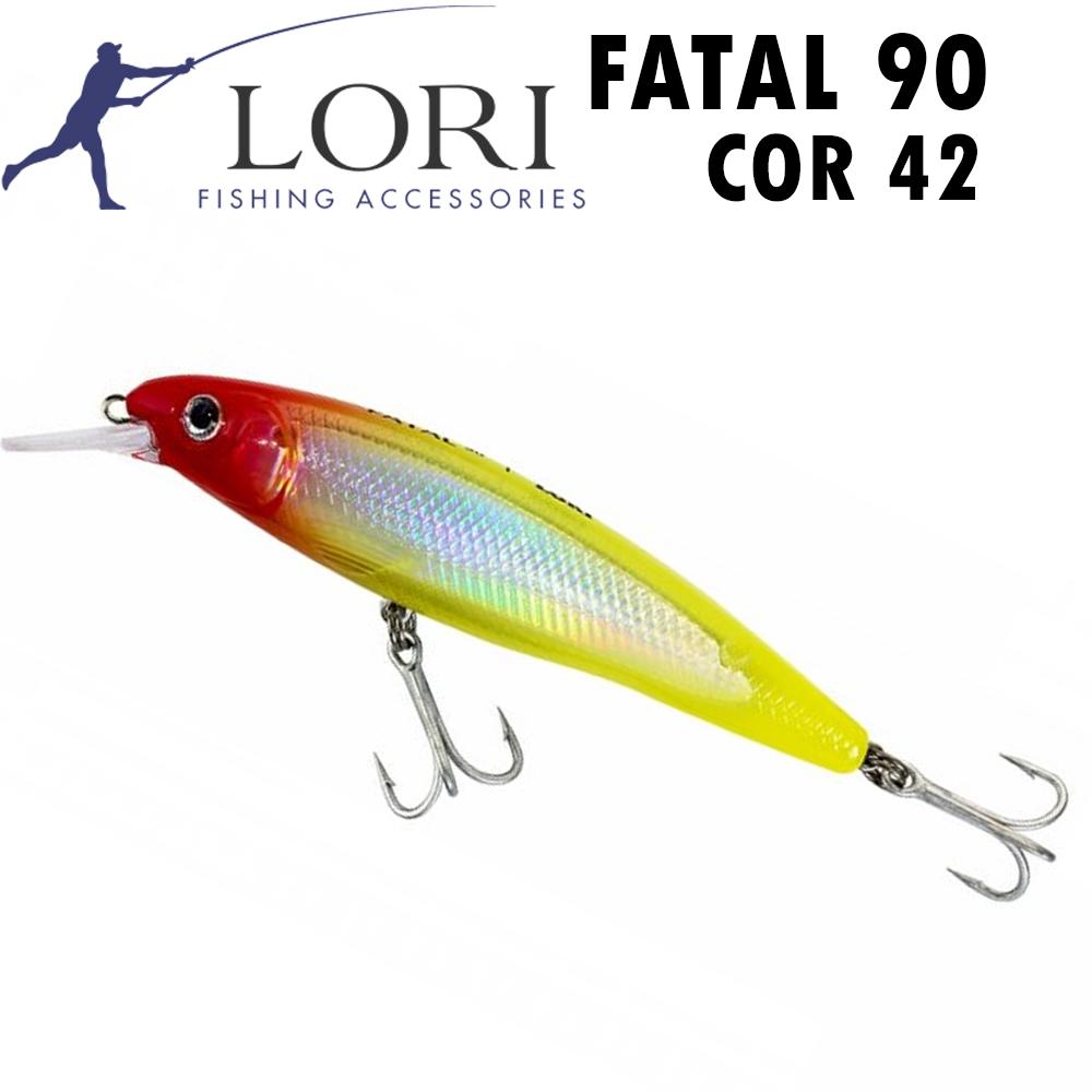 Isca Artificial Lori Fatal 90 Cor 42