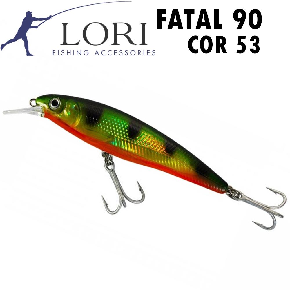 Isca Artificial Lori Fatal 90 Cor 53