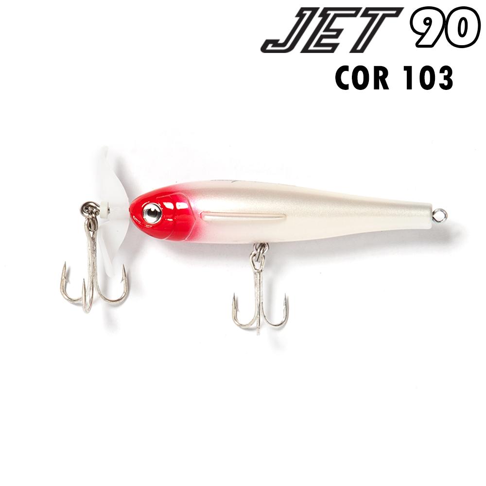 Isca artificial jet 90 cor 103 - nelson nakamura