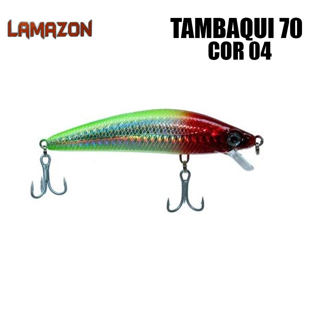 Isca Artificial Lamazon Tambaqui 70 Cor 04