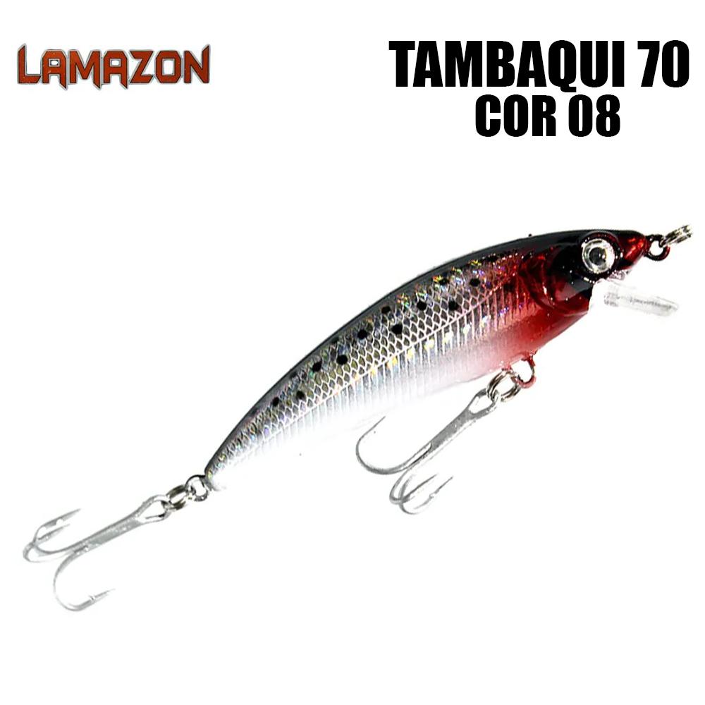 Isca Artificial Lamazon Tambaqui 70 Cor 08