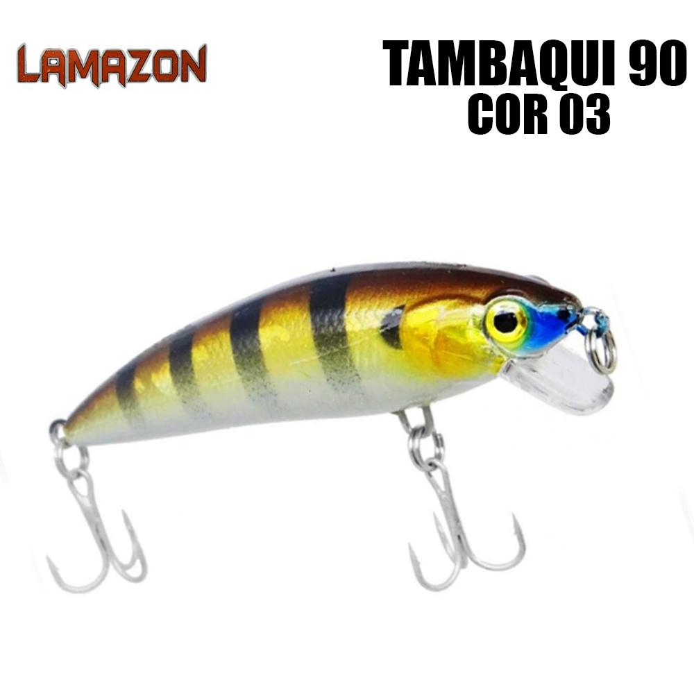 Isca Artificial Lamazon Tambaqui 90 Cor 03